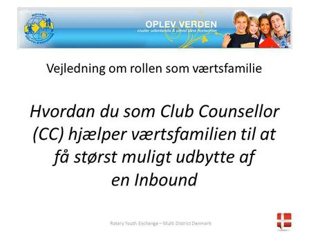 Rotary Youth Exchange – Multi District Denmark
