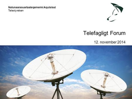 Telefagligt Forum 12. november 2014