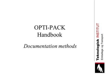 Documentation methods