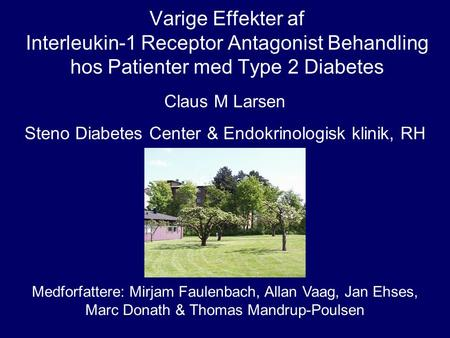 Steno Diabetes Center & Endokrinologisk klinik, RH