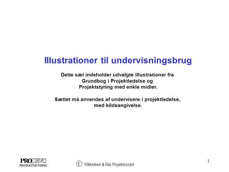 Illustrationer til undervisningsbrug