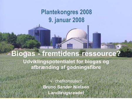 Afbrænding af biogas