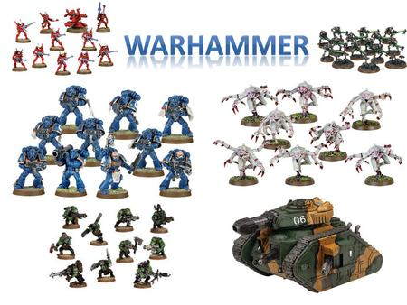 Warhammer My own project is about Warhammer because that is one of my interest. Warhammer is a tabletop war game. Warhammer 40,000 was created by games.