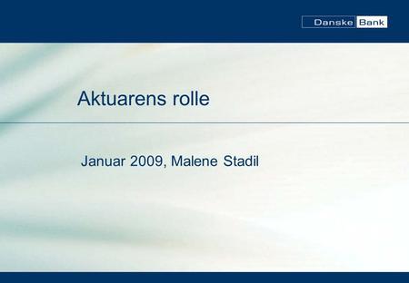 danske bank anbefalinger