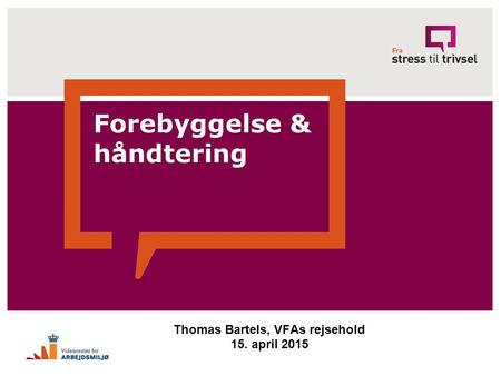 Thomas Bartels, VFAs rejsehold 15. april 2015