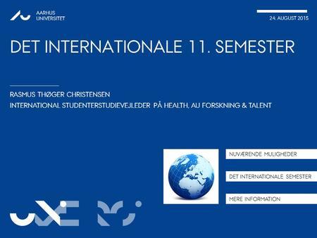 international linje ansøgning