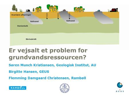 Er vejsalt et problem for grundvandsressourcen?