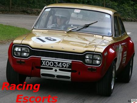 Racing Escorts by.