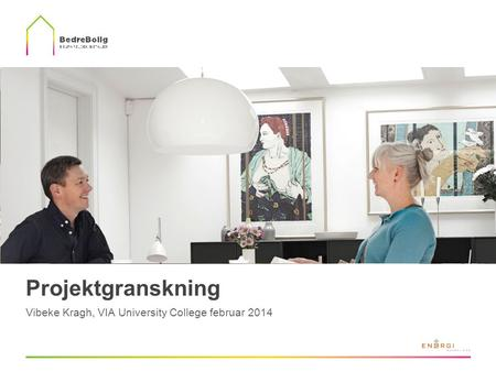 Projektgranskning Vibeke Kragh, VIA University College februar 2014.