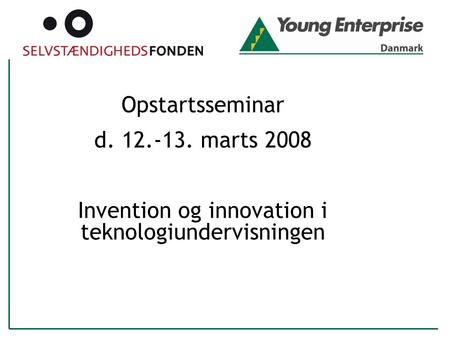 Invention og innovation i teknologiundervisningen