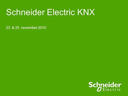 Schneider Electric KNX