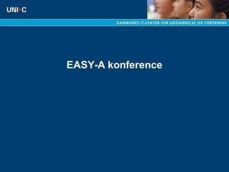 EASY-A konference.