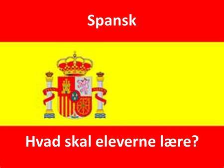 præteritum eller imperfektum spansk