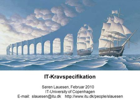 IT-Kravspecifikation