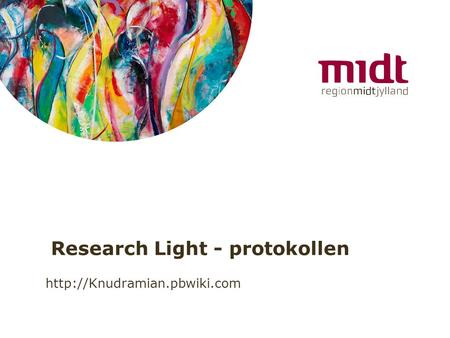 Research Light - protokollen
