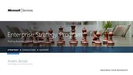 Enterprise Strategy Program