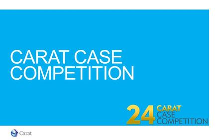 Carat case competition