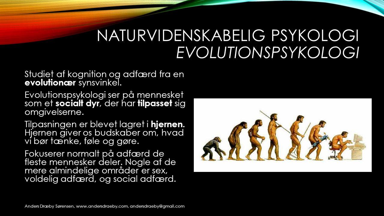 Naturvidenskabelig psykologi evolutionspsykologi