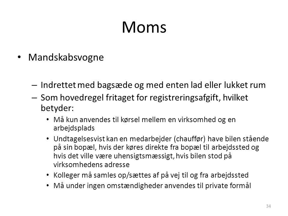 Grænseflader mellem moms og skat Aktuel moms Lokalgruppen - ppt download