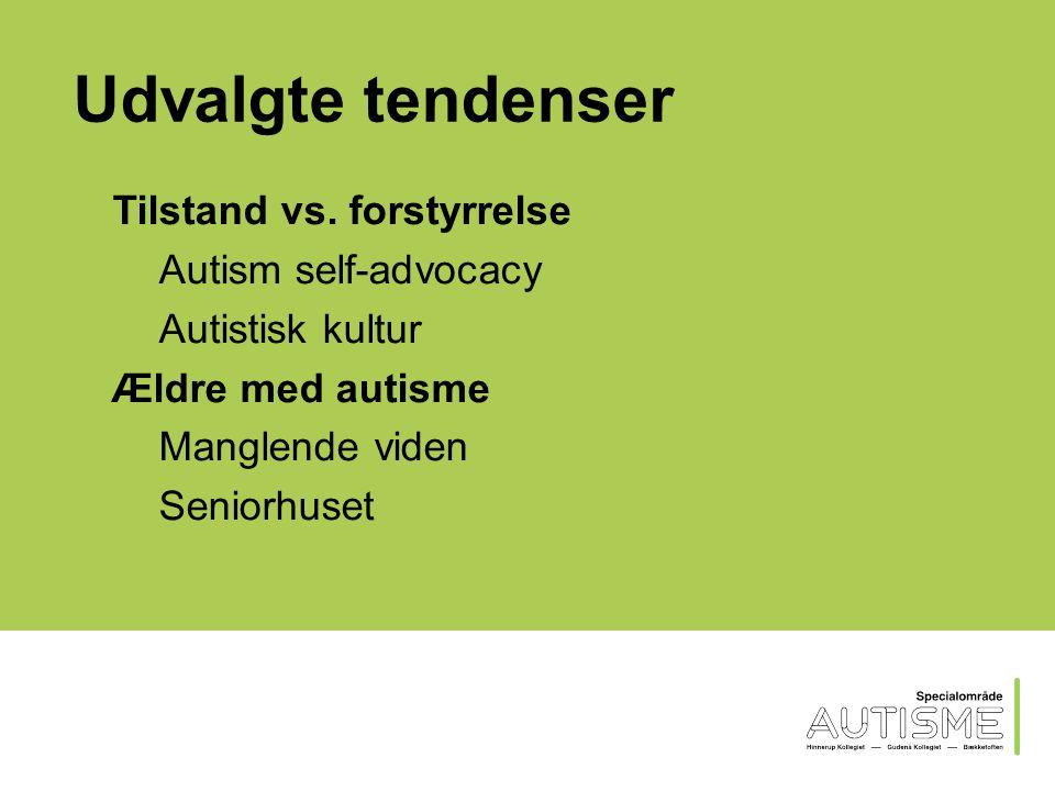 Udvalgte tendenser Kvinder med autisme