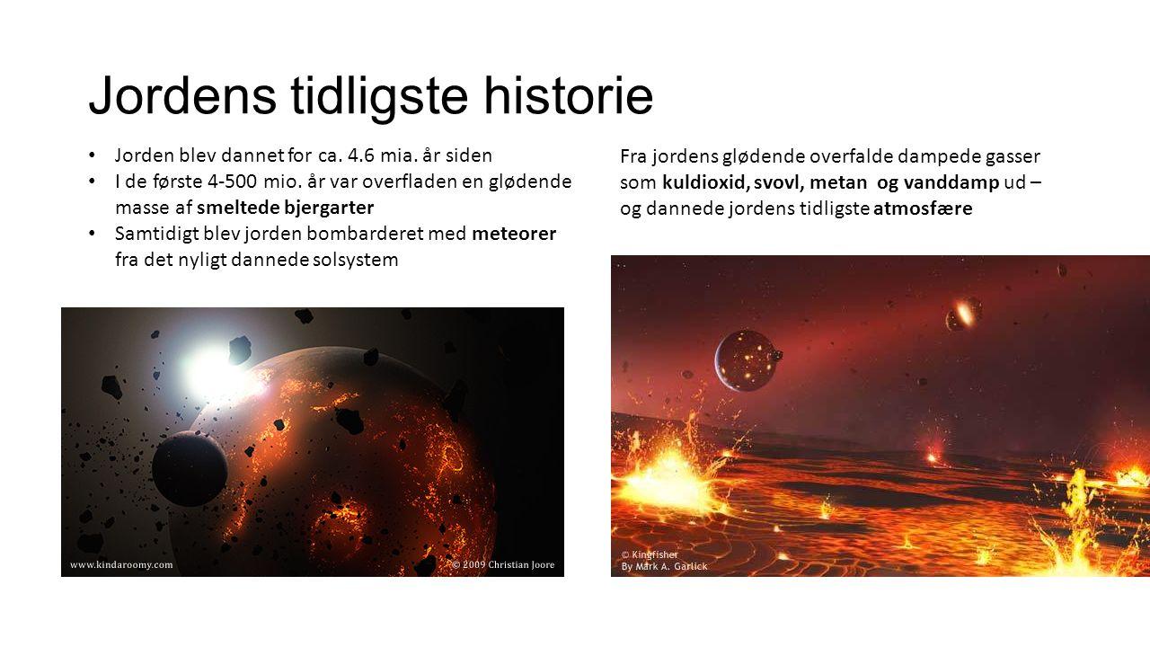 Jordens tidligste historie
