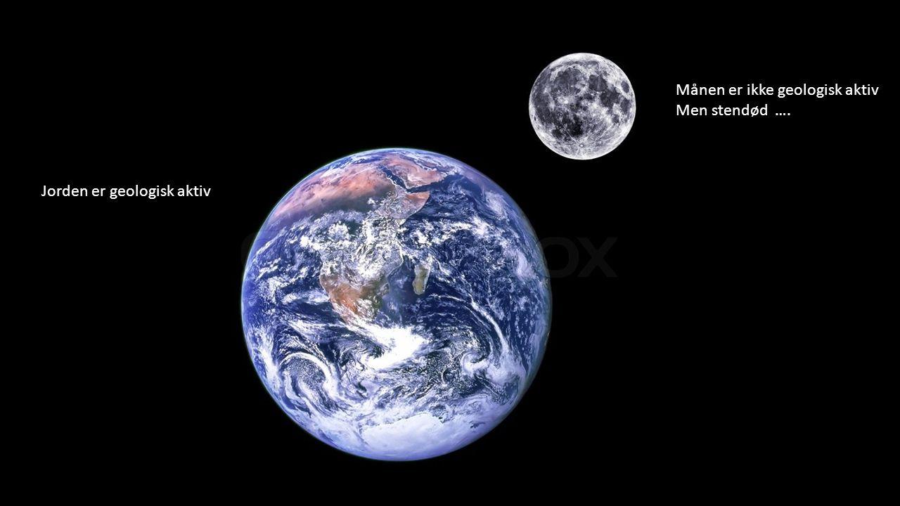 Månen er ikke geologisk aktiv