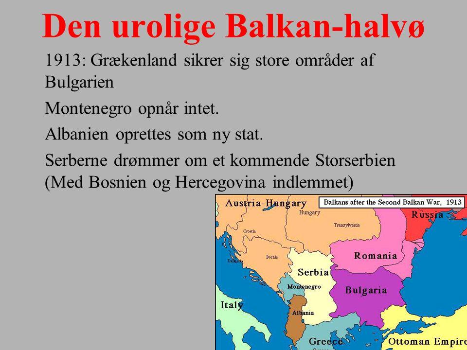 Den urolige Balkan-halvø