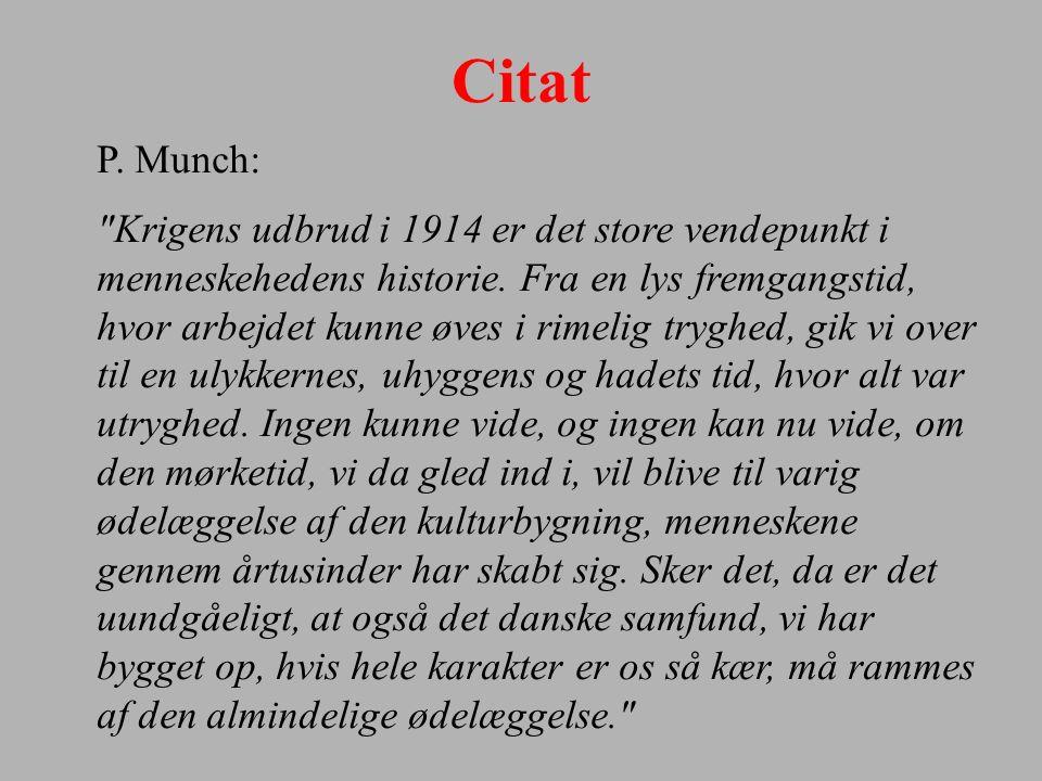 Citat P. Munch: