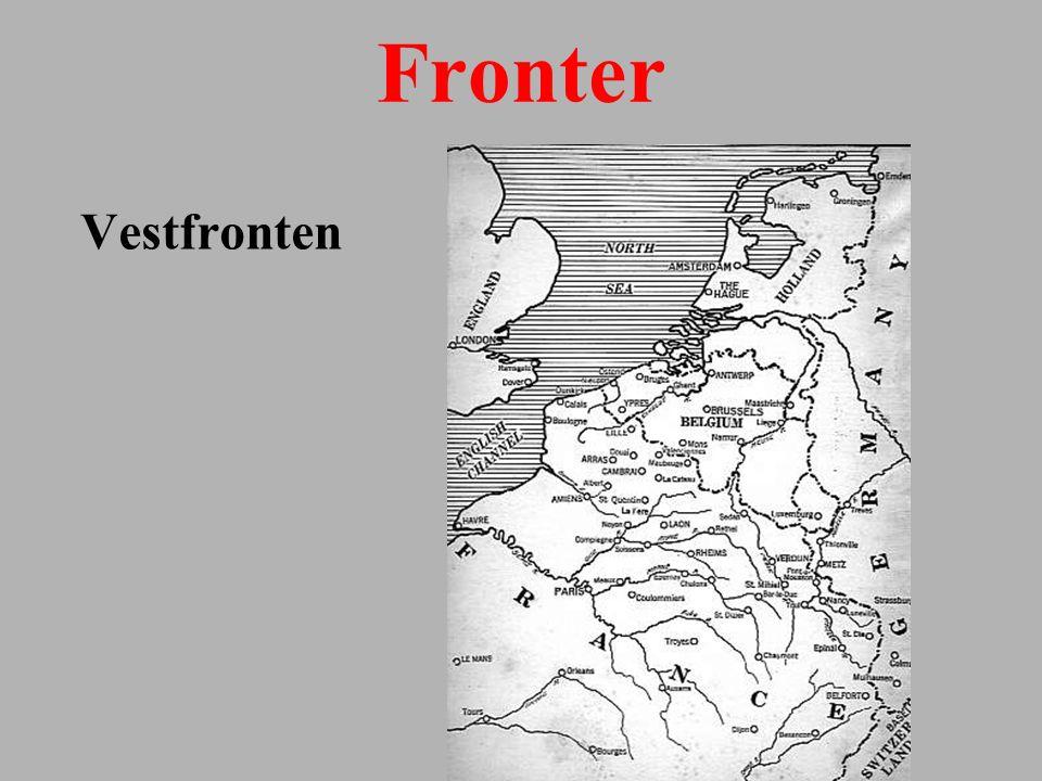 Fronter Vestfronten