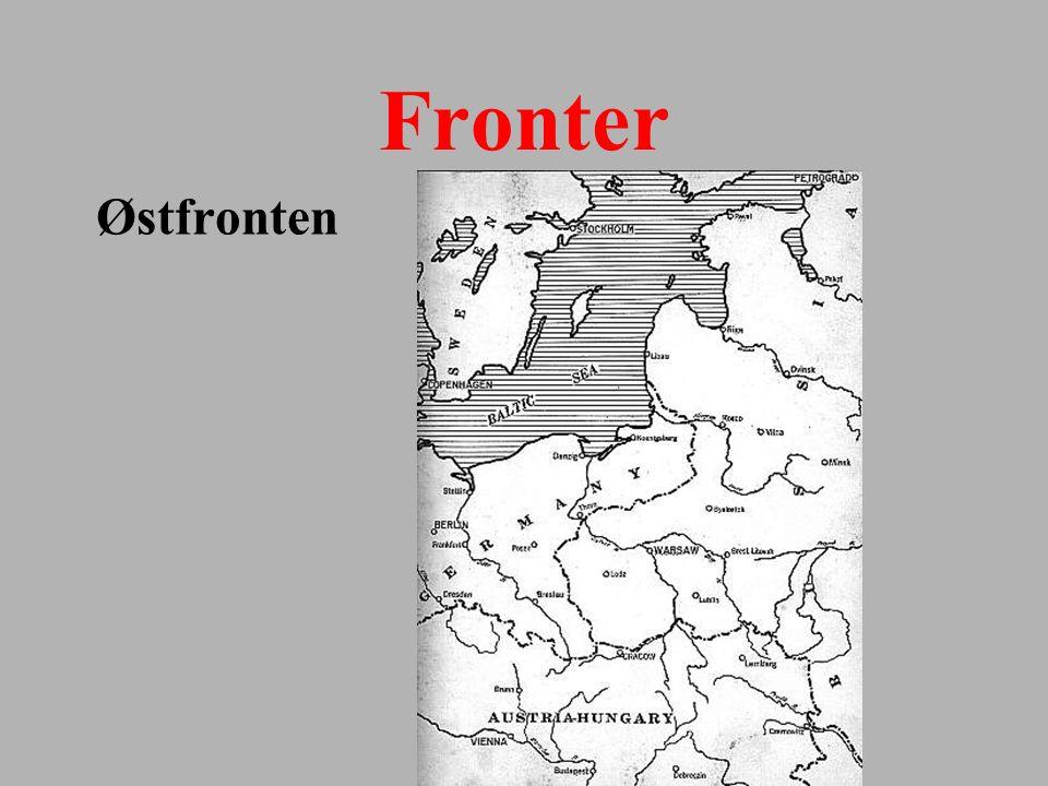 Fronter Østfronten