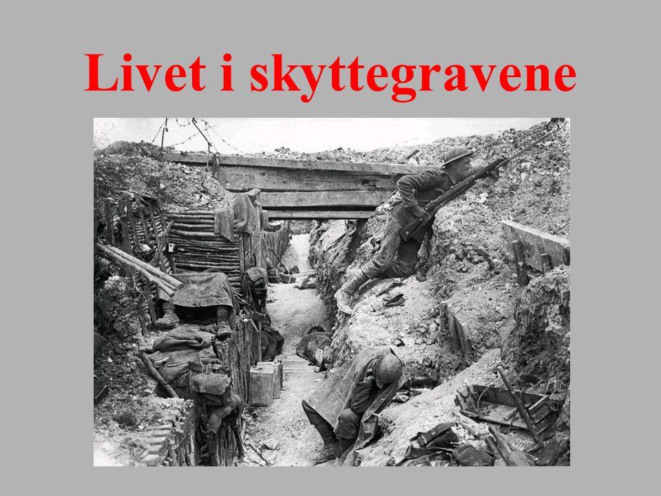 Livet i skyttegravene