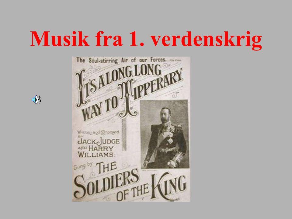 Musik fra 1. verdenskrig