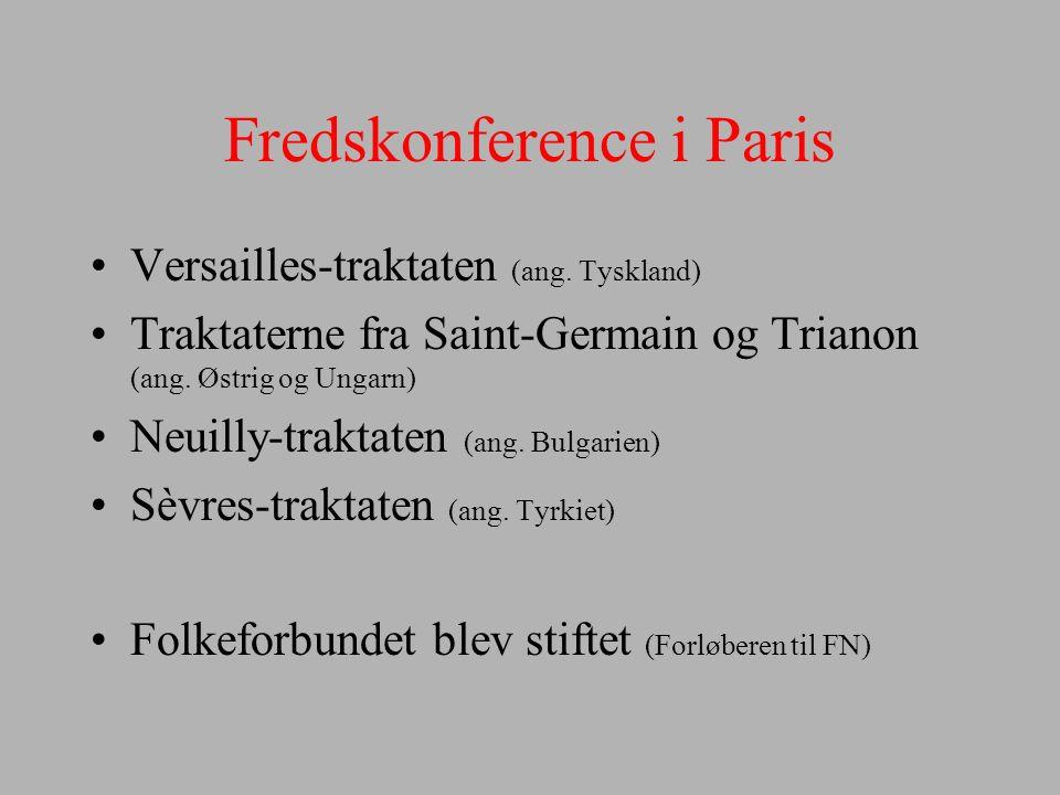 Fredskonference i Paris