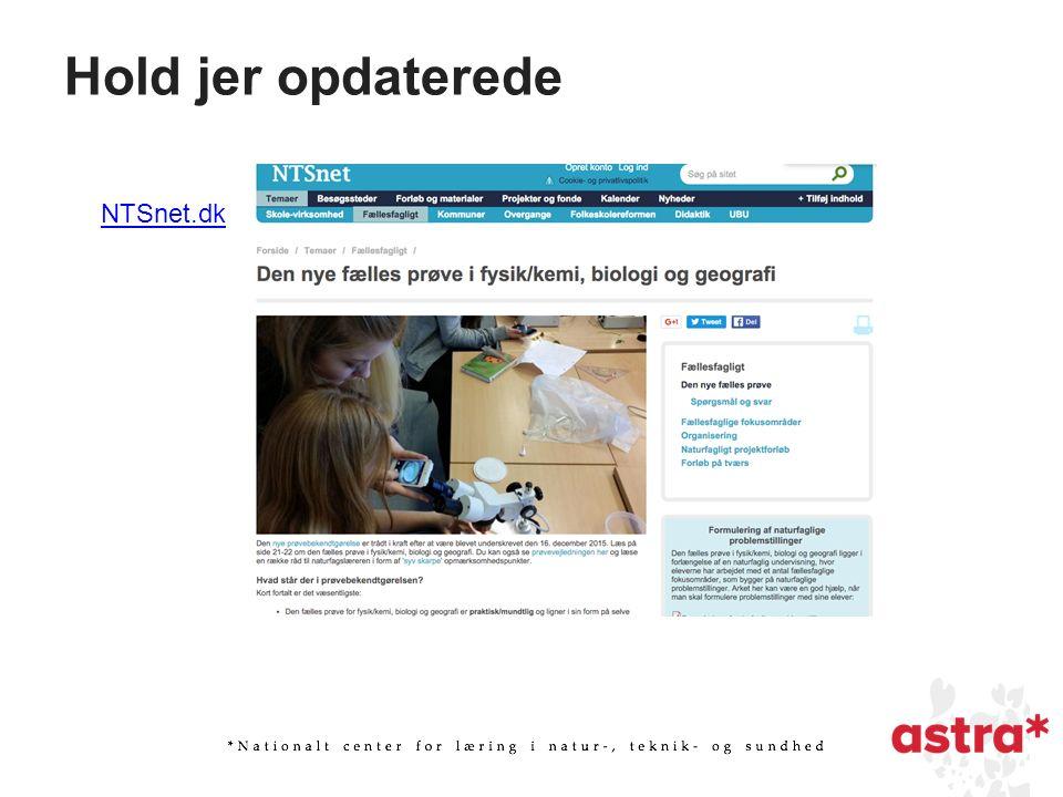 Hold jer opdaterede NTSnet.dk