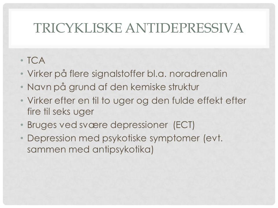 Tricykliske antidepressiva