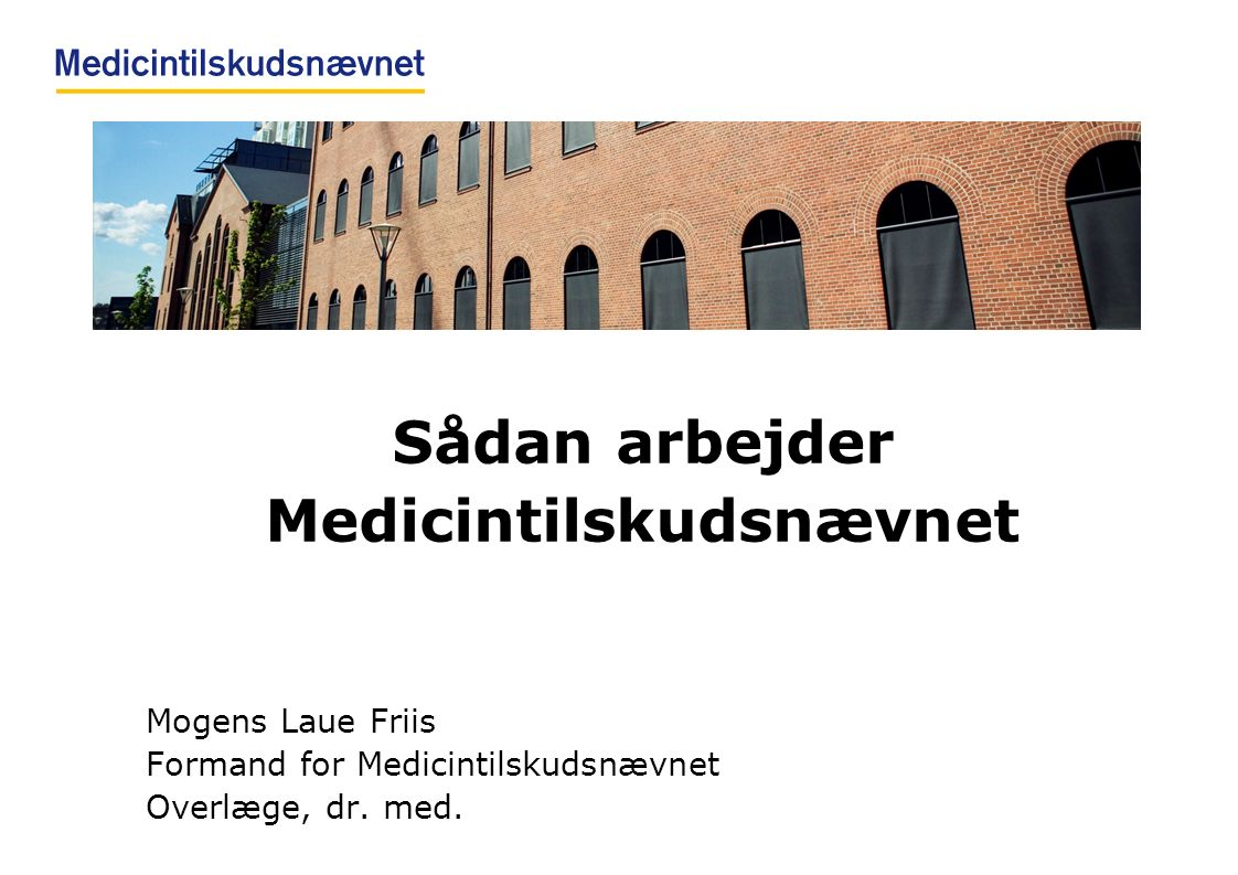 Medicintilskudsnævnet