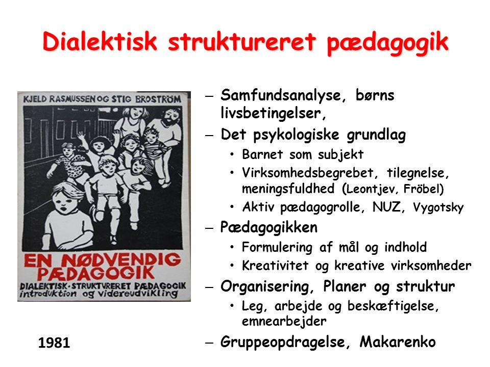 Dialektisk struktureret pædagogik