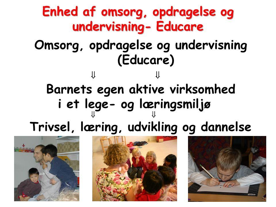 Enhed af omsorg, opdragelse og undervisning- Educare