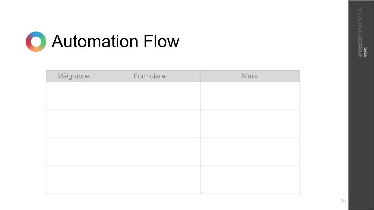Automation Flow Målgruppe Formularer Mails 10