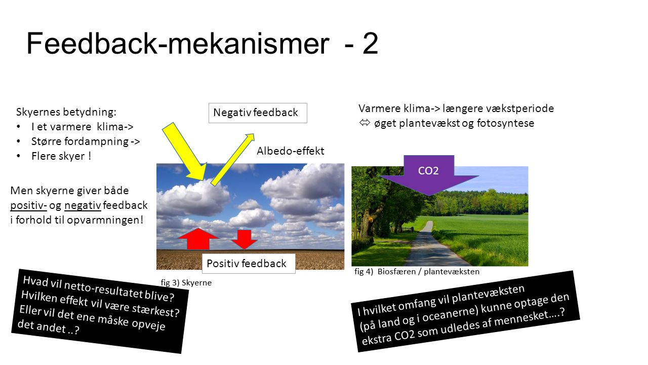 feedback mekanismer klimasystemet