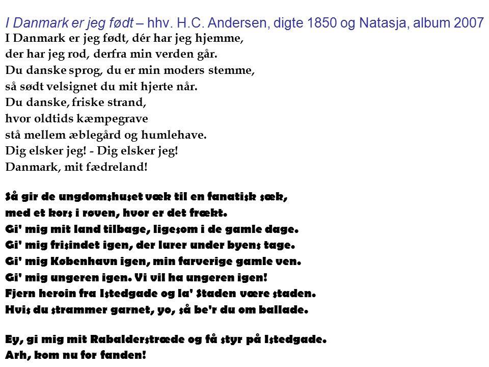 natasja gi mig danmark tilbage lyrics