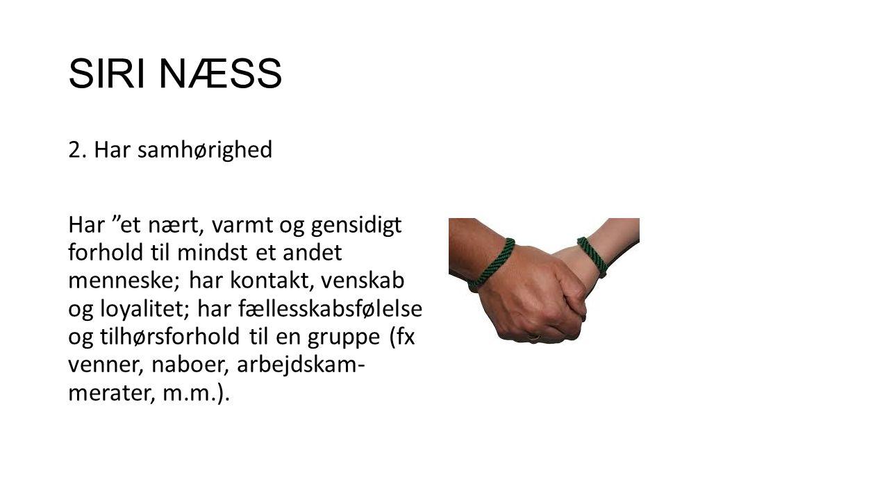SIRI NÆSS