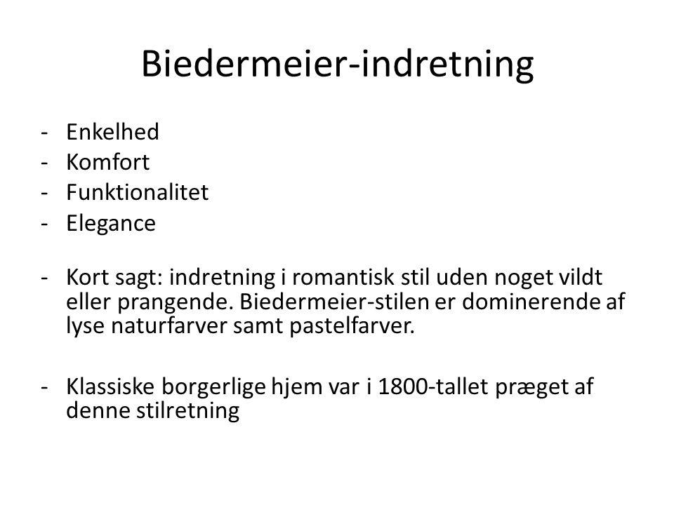 Biedermeier-indretning