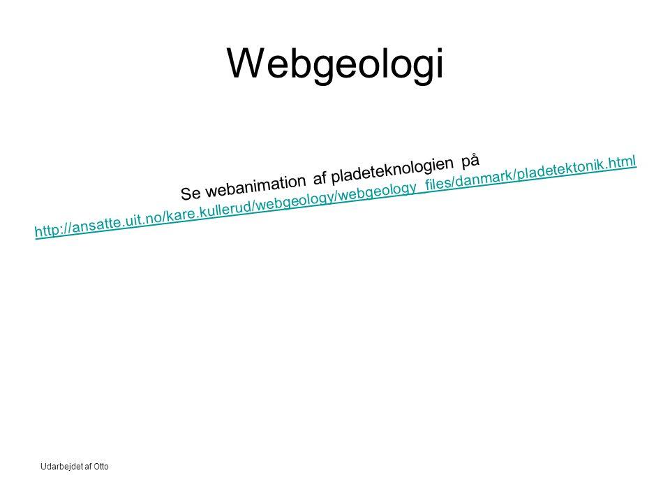 Webgeologi Se webanimation af pladeteknologien på http://ansatte.uit.no/kare.kullerud/webgeology/webgeology_files/danmark/pladetektonik.html.