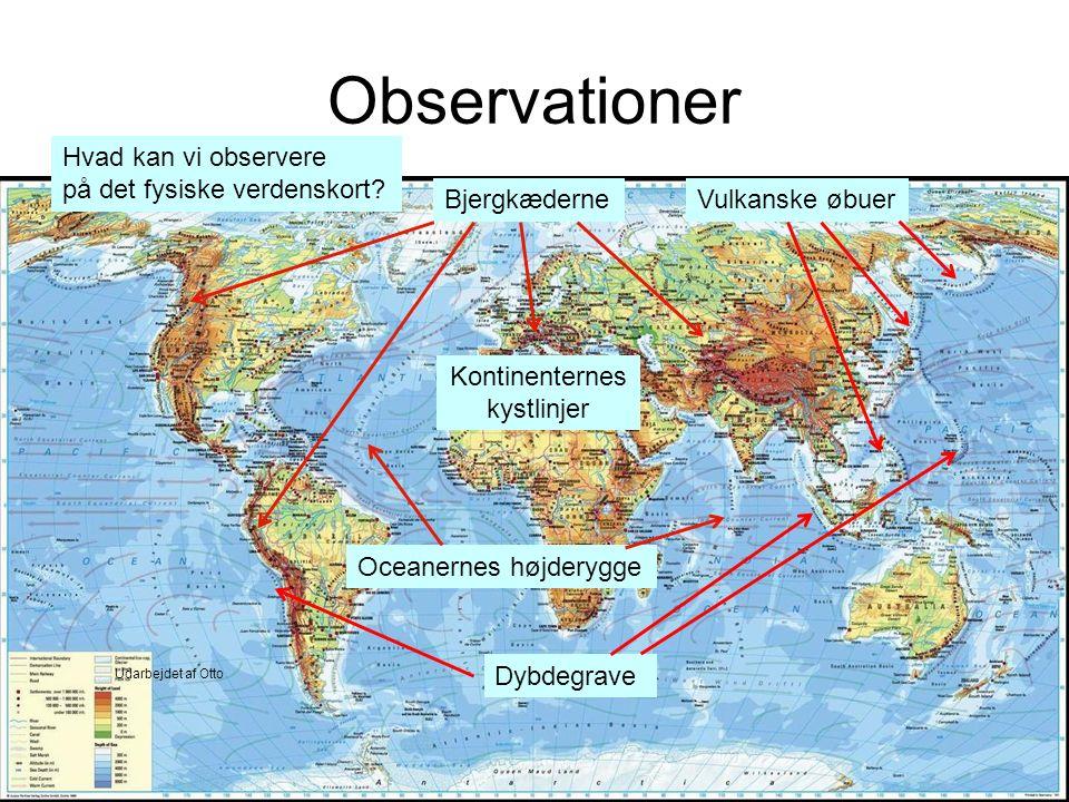 Kontinenternes kystlinjer