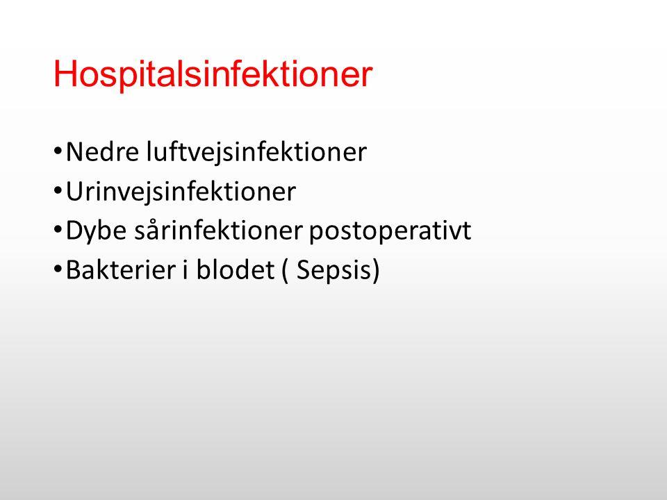 Hospitalsinfektioner