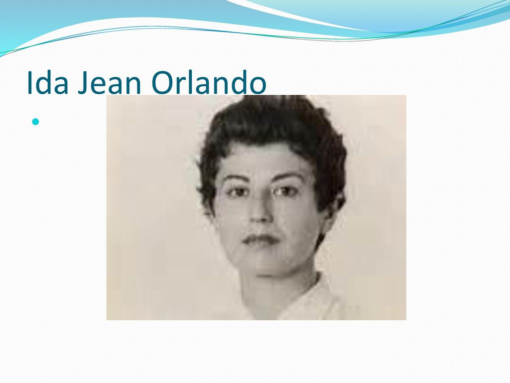 ida jean orlando essay Essay orlando s nursing process theory the grand theory and 90,000+ more term papers written by professionals and this theory was formulated by ida jean orlando.