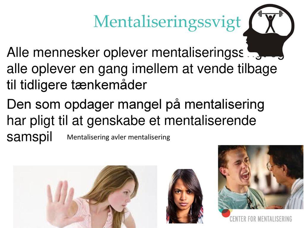Mentalisering avler mentalisering