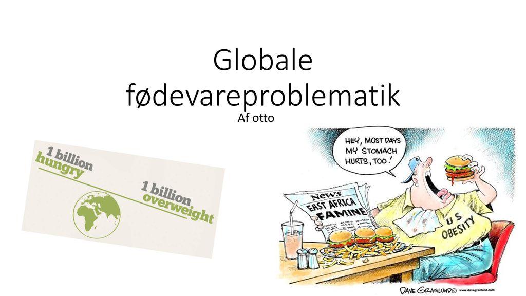 Globale fødevareproblematik