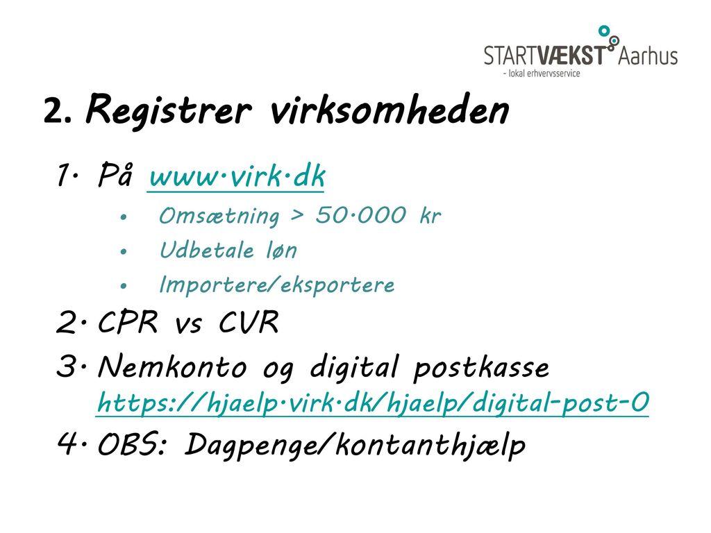 Velkommen til startmøde - ppt download